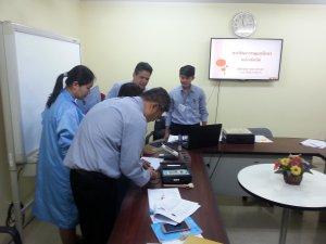 TRAINNING การใช้และการดูแลรักษาเครื่องมือวัด